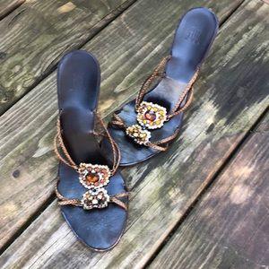 Pelle Moda brown Sandals